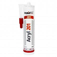 Герметик акриловый KIM TEC-121 бесцветный 310 мл
