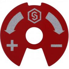 Диск сине-красный Stout SMB 6801 000610 для распределительных коллекторов