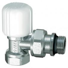 Вентиль регулирующий FAR FV115512 1/2 дюйма угловой с уплотнением EPDM