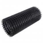 Сетка сварная черная в рулонах