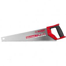 Ножовка по дереву ЗУБР Молния 3D 7 tpi 450 мм
