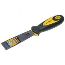 Шпатель KRAFTOOL двух компонентная ручка нерж. полотно 32мм