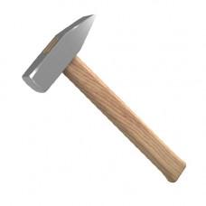 Молоток слесарный 1000г с деревянной рукояткой СИБИН